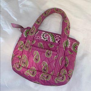 Vera Bradley original pattern tiny bag